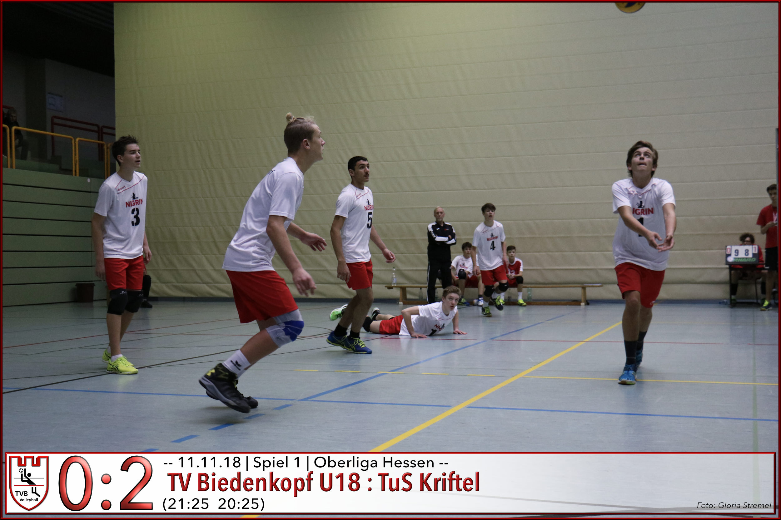U18m | Heimspiel gegen TuS Kriftel am 11.11.2018