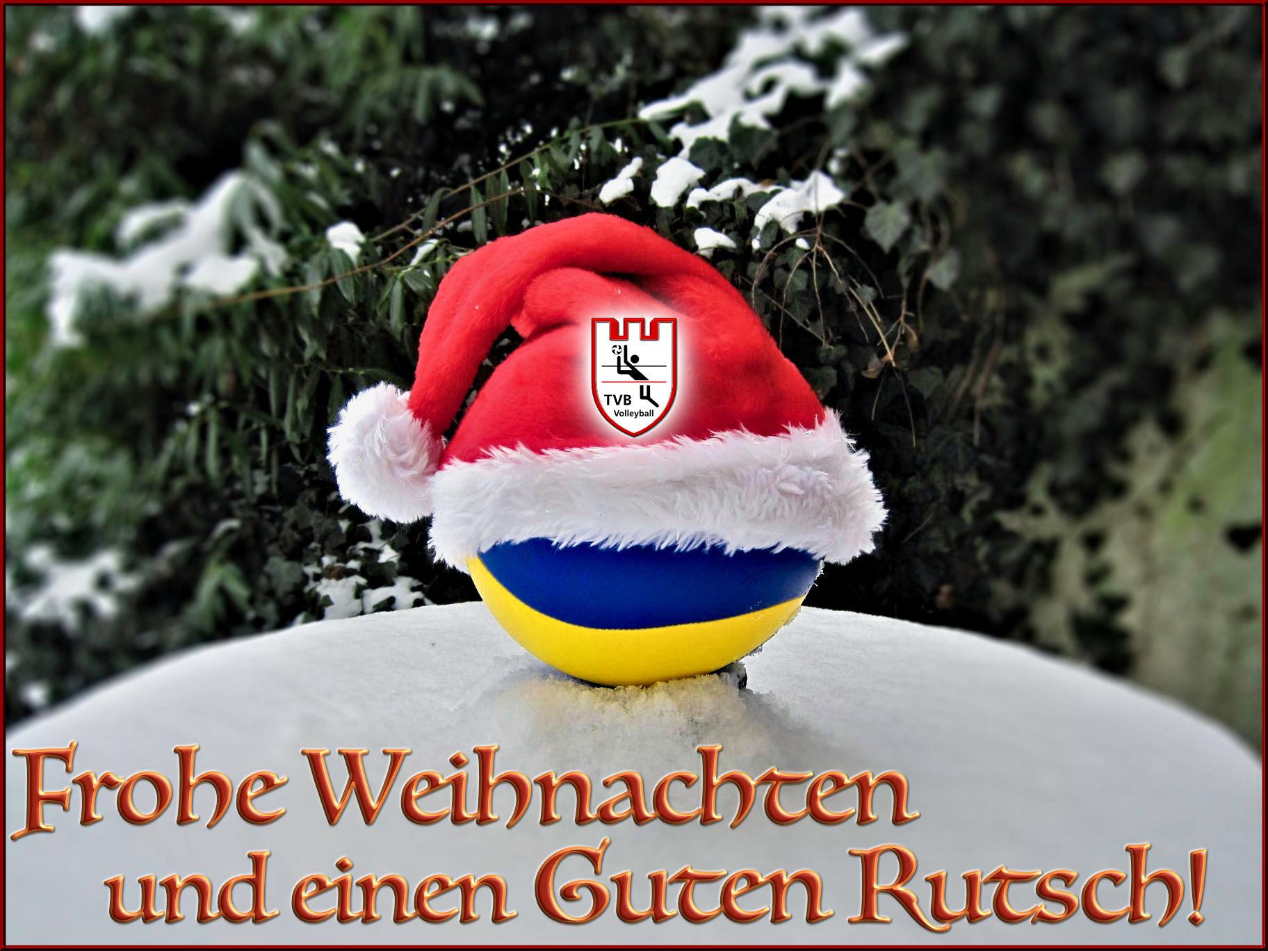 Weihnachtsmarkt- und Neujahrsgruß der TV Biedenkopf Volleyball Abteilung 2018