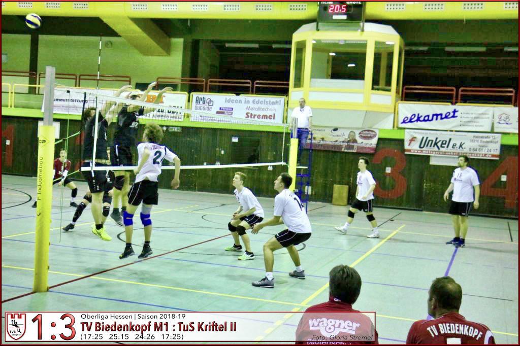 M1 | TVB Volleyball gegen TuS Kriftel II vom 16.02.2019