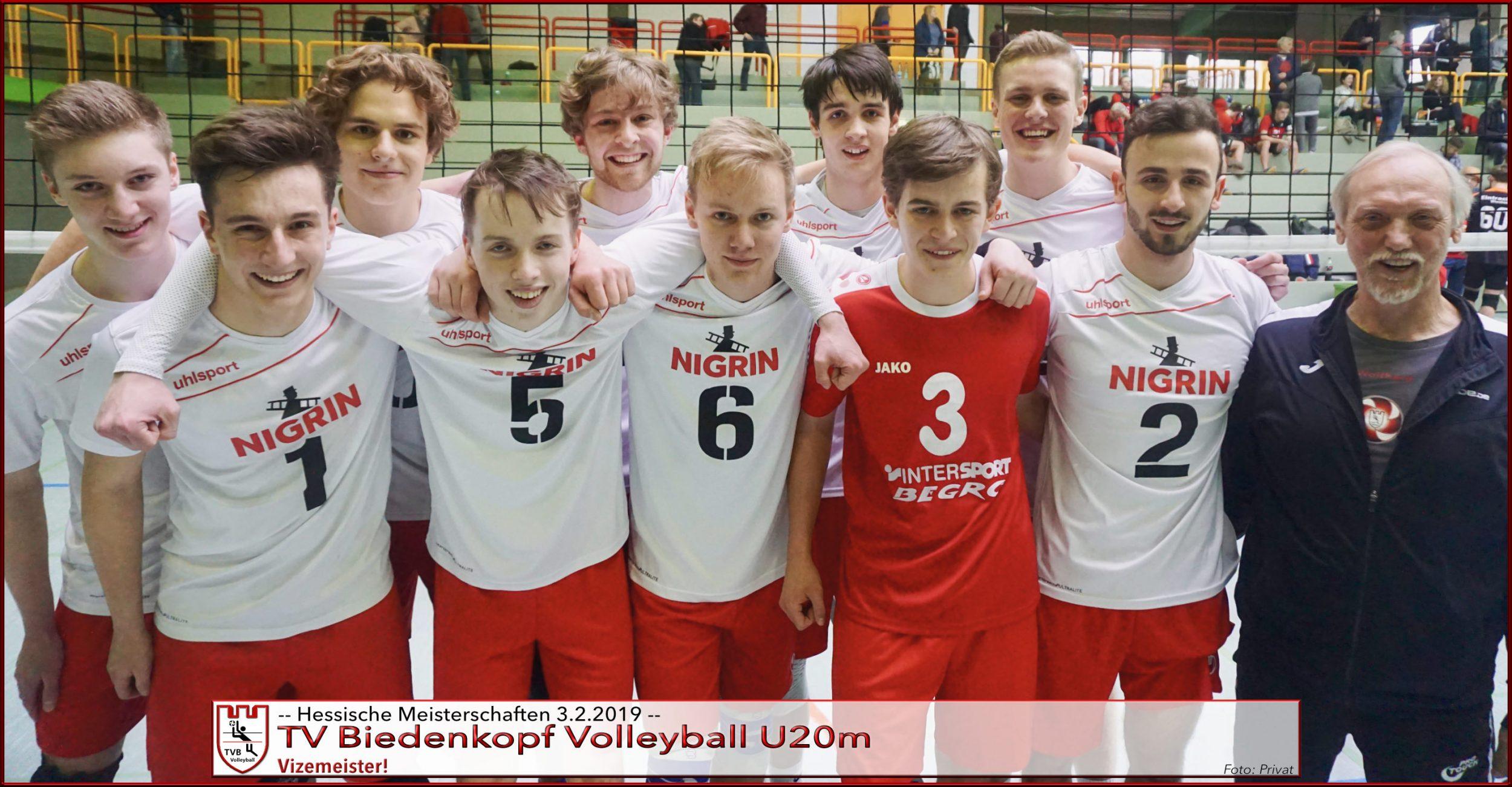 TVB Volleyball | U20m ist Vizehessenmeister in eigener Halle geworden!