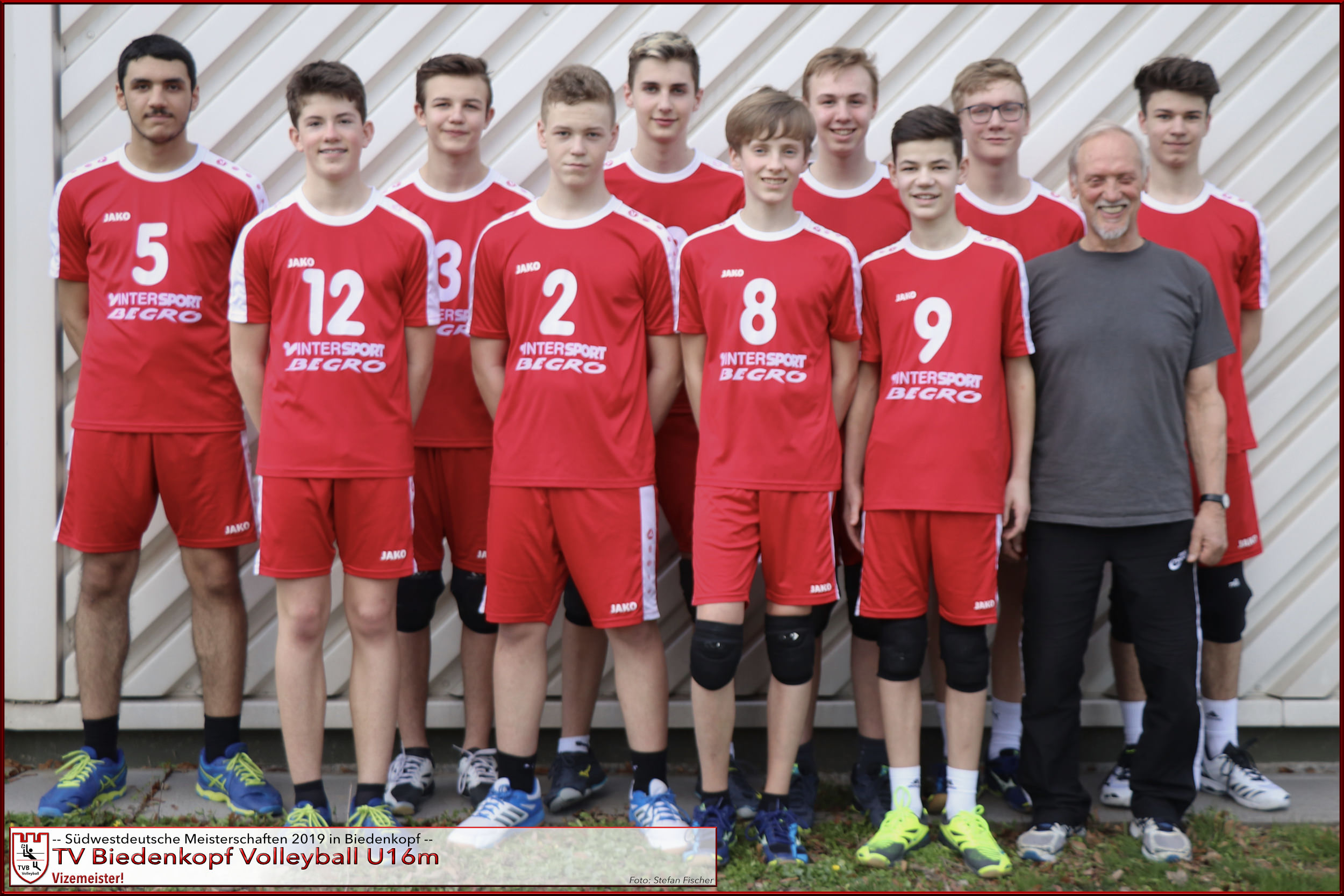 TVB Volleyball U16m | Vize-Südwestmeister 2019